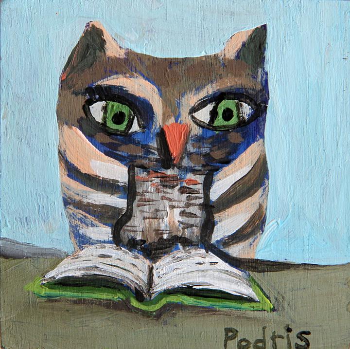 """Knowledgabel Owl"" by Anna Podris"