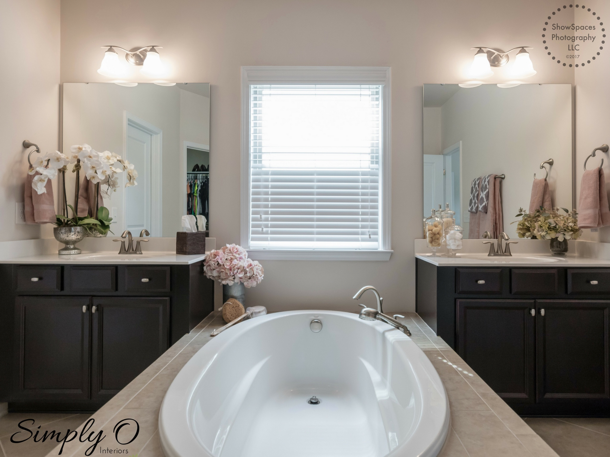 Simply Staged Master Bath