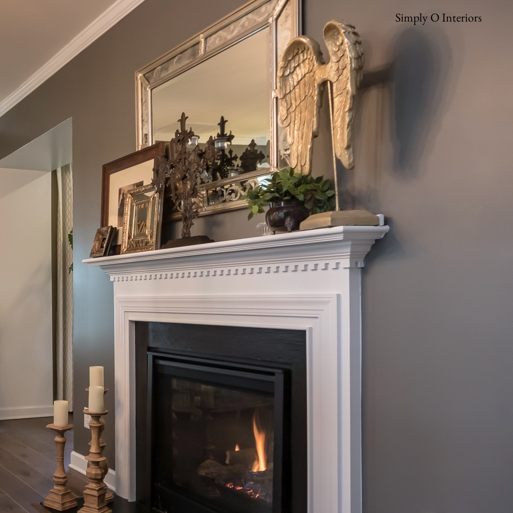 Two Sided Dining Room Fireplace