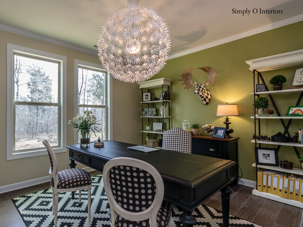 Whimsical Home Office