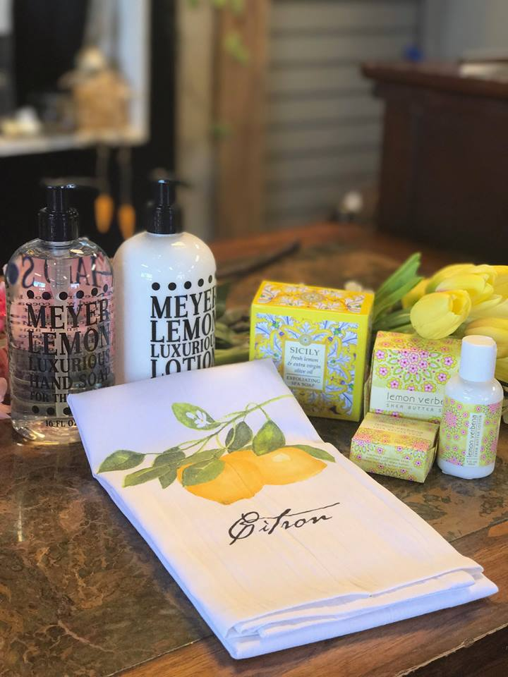 These specialty shea butter soaps and lotions are daily best sellers - come and sniff 'em all!