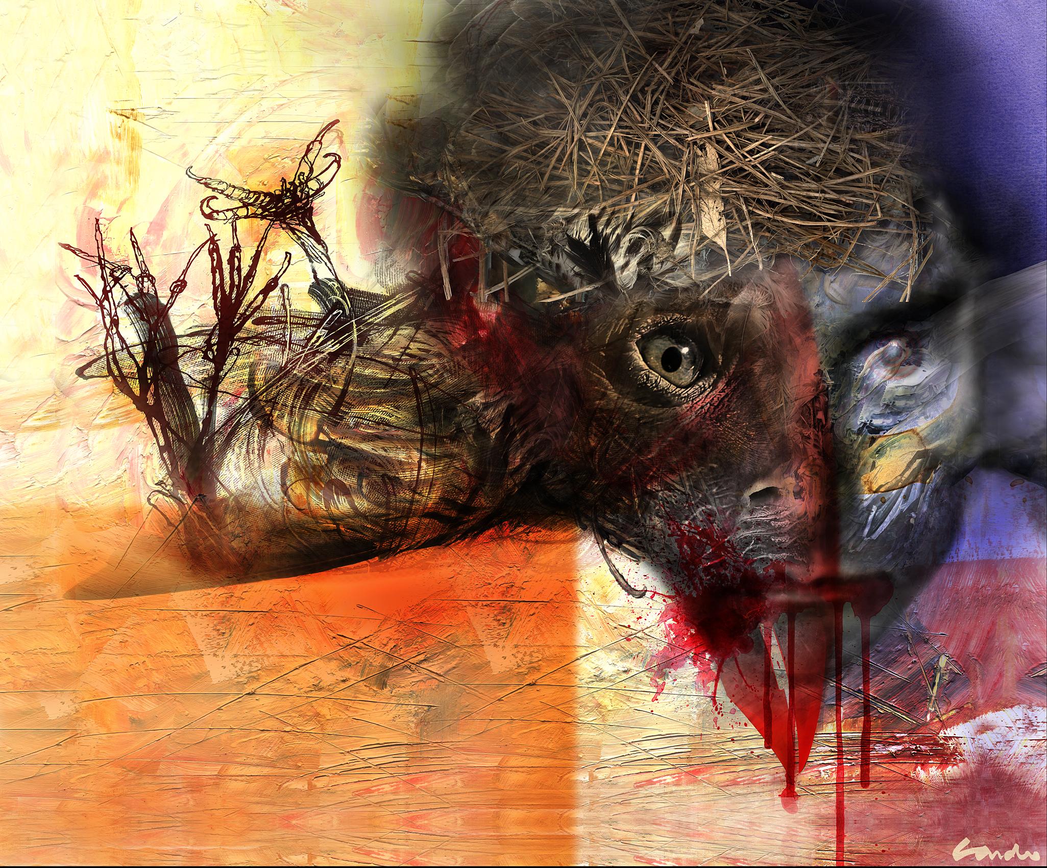 Franz Kafka and his vulture