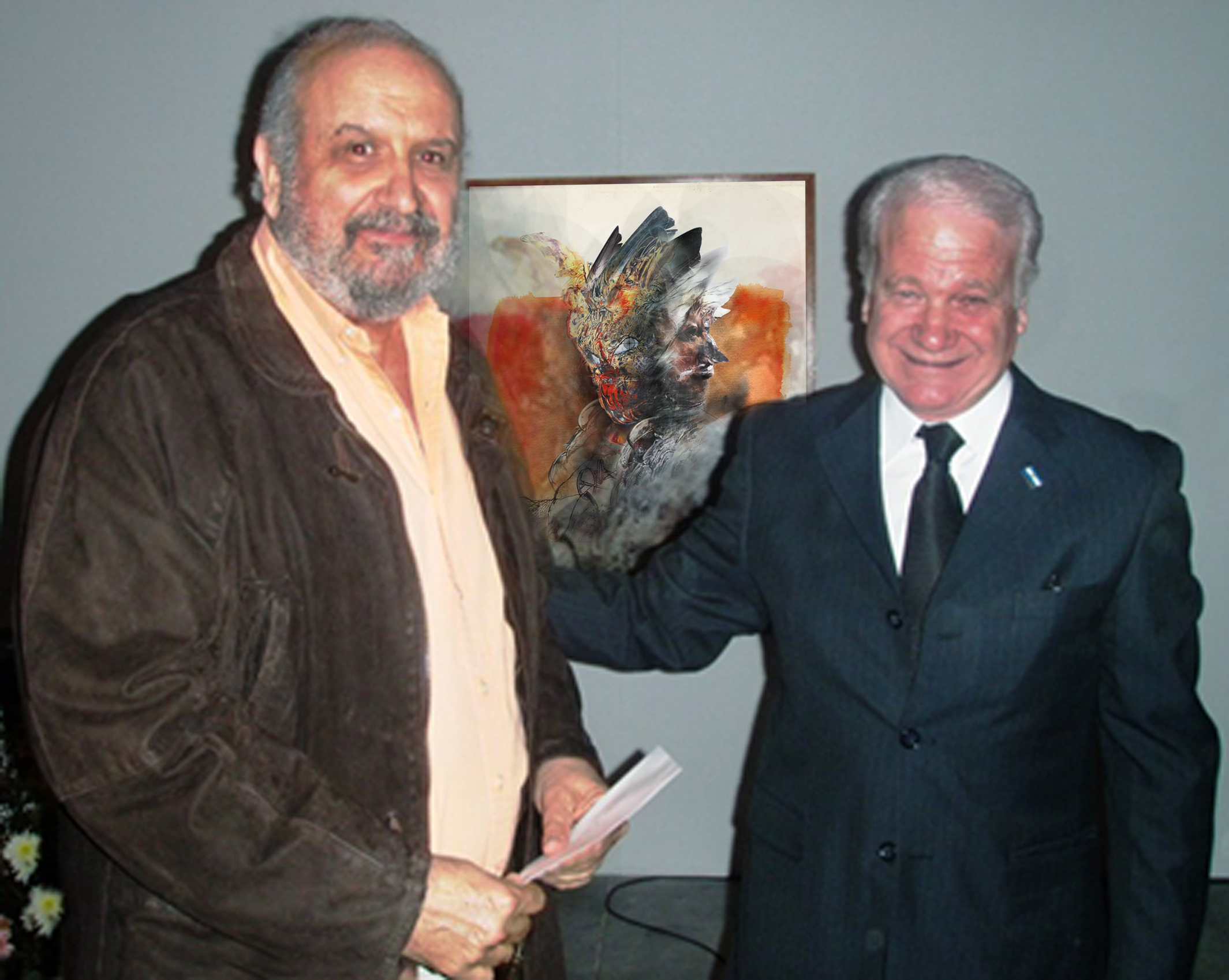 3.Delivery of the Navarro Correas award by the Mayor of the city, Alfredo Castellari.jpg