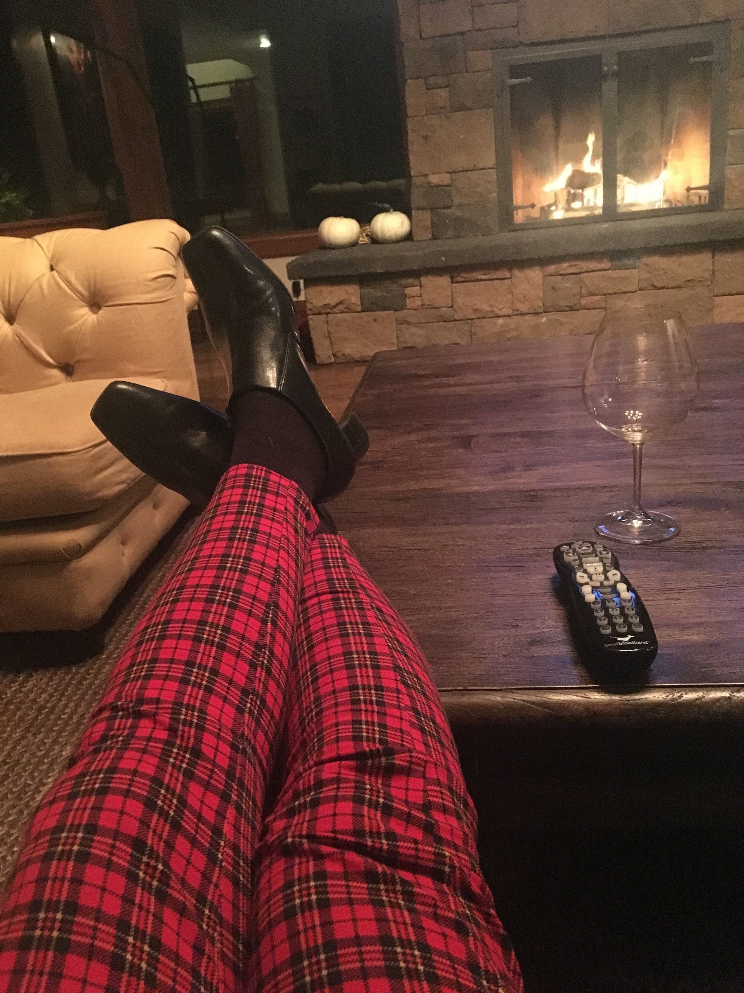 Next step, pour a nice glass of wine, grab your comfy blanket, light a candle and your favorite playlist!Put your feet up and get -READY TO RECEIVE -