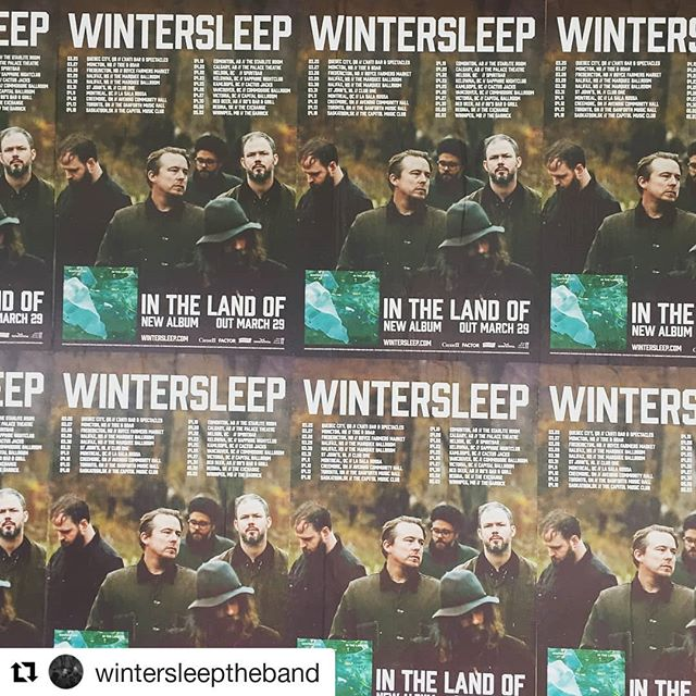 I'm going to @wintersleeptheband in #Vancouver at @commodoreballroom on April 26th!  It'll be our 6th show! We'll also be celebrating our 14th wedding anniversary 😄  Are you coming? How many times have you seen @wintersleeptheband?  #Repost @wintersleeptheband (@get_repost) ・・・ On our way to Montreal to start the next set of tour dates! Today we're giving away tickets to Nelson, Kelowna, Kamloops, Vancouver and Victoria!