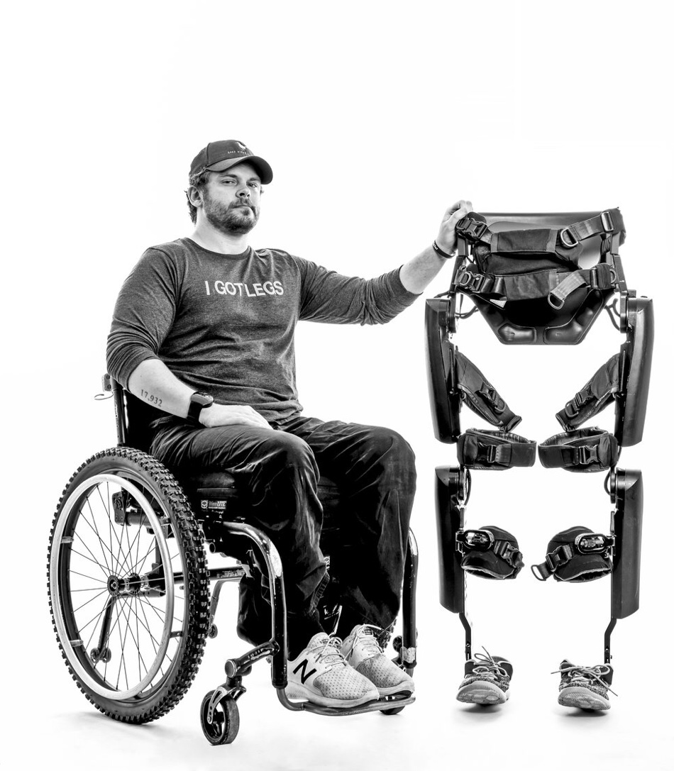 Q:Who is the Betty Carlton? - A: Betty Carlton is the name of I GOT LEGS founder Adam Gorlitsky's ReWalk Robotic Exoskeleton — Betty after his late grandmother, and Carlton after Carlton Banks from the Fresh Prince of Bel Air.