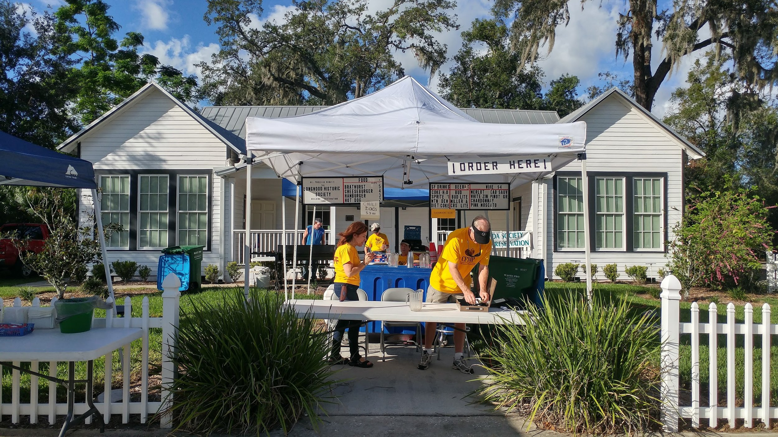 Food Tent - Volunteers needed
