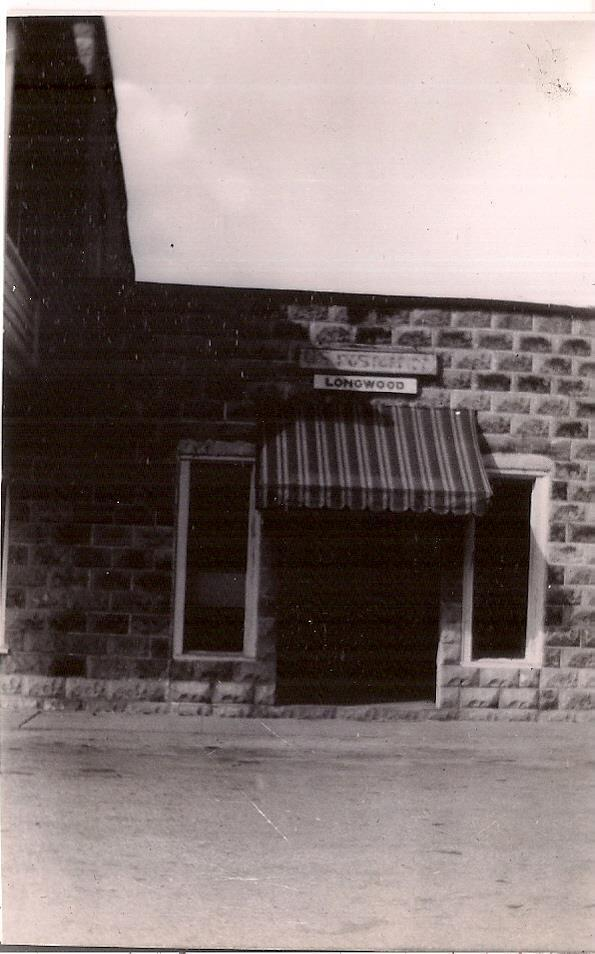 Building when it was serving as the post office.