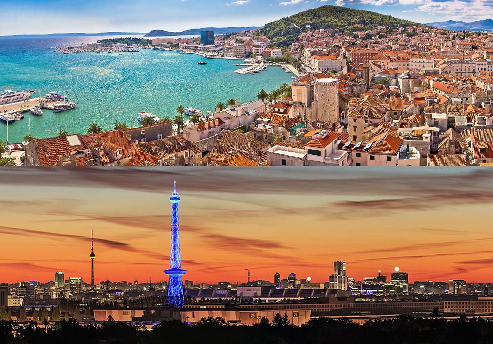 Berlin, Germany+ Split, Croatia - September 4-13 or 4-19,2018