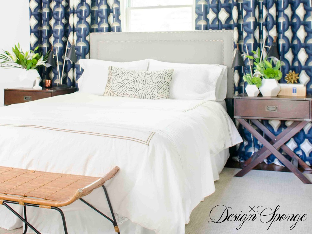 Going Glam in a Bachelor Pad Bedroom