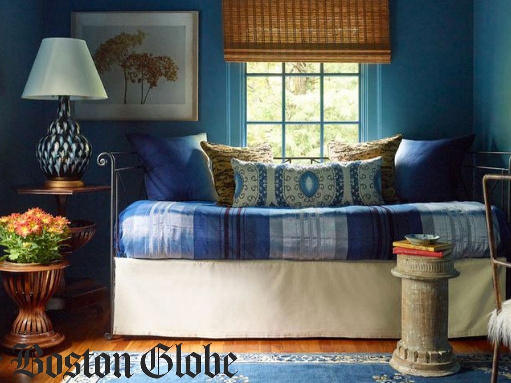 Deep Blue Transforms This Room