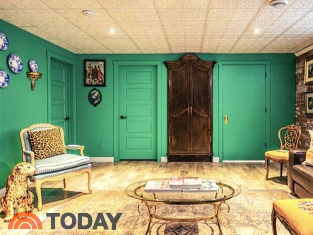 A Narnia-inspired Secret Room