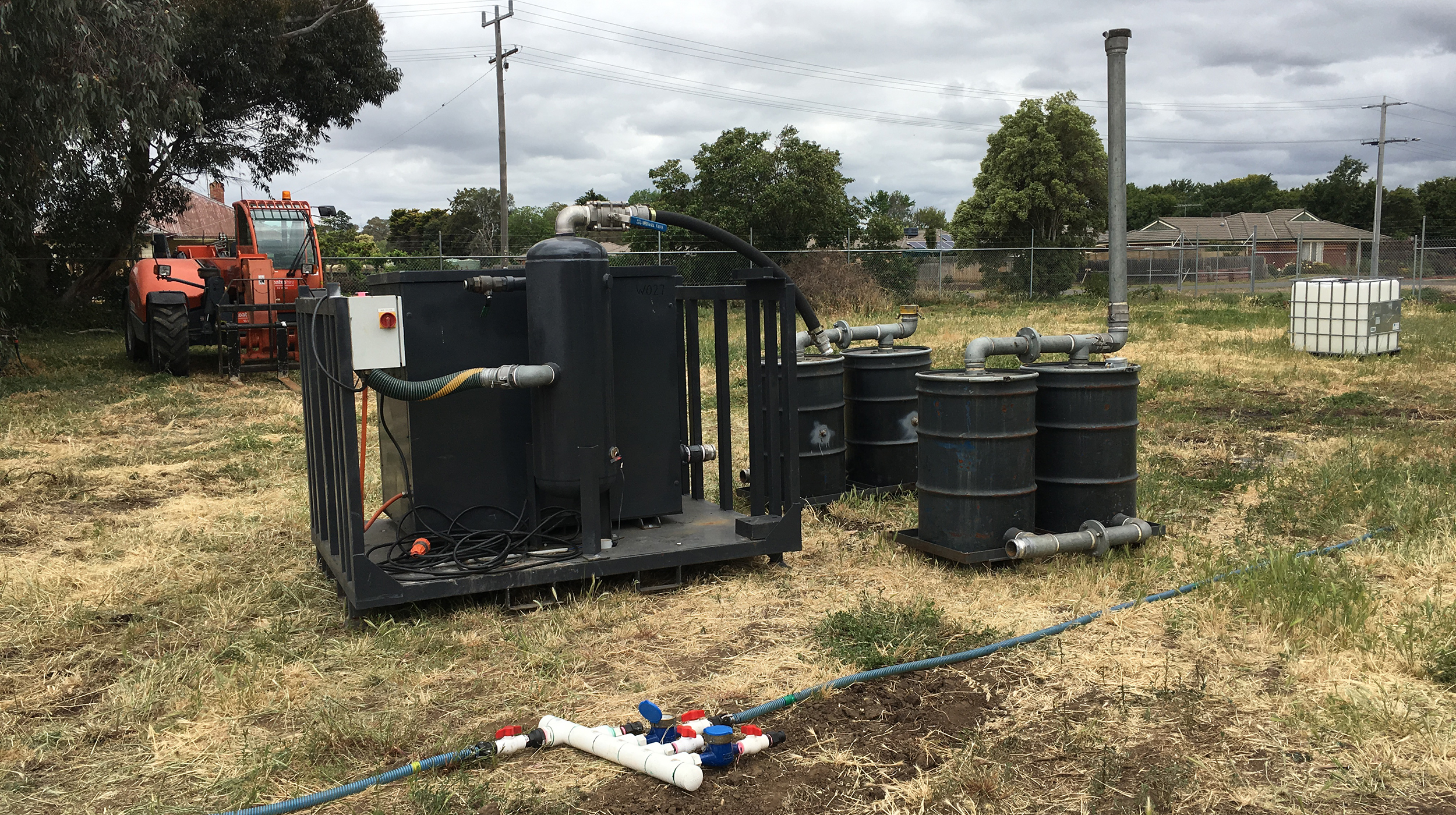 FORMER BACCHUS MARSH GASWORKS - VICTORIA - BlueSphere has been engaged on this project since 2011 undertaking a complex range of soil and groundwater investigations through to remedial design and implementation which will see this former gasworks site rendered suitable for public use.