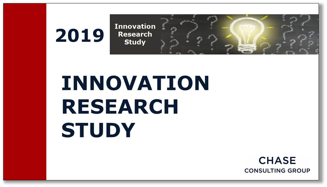 Chase 2019 Innovation Study Report