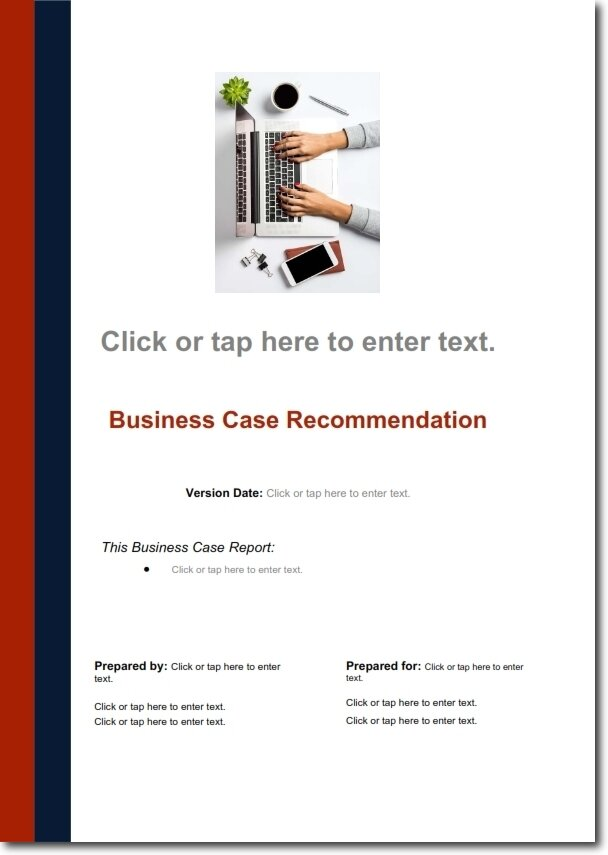 Five Steps To Develop A Solid Business Case With Examples Chase Consulting Group Innovation And Strategy Specialists