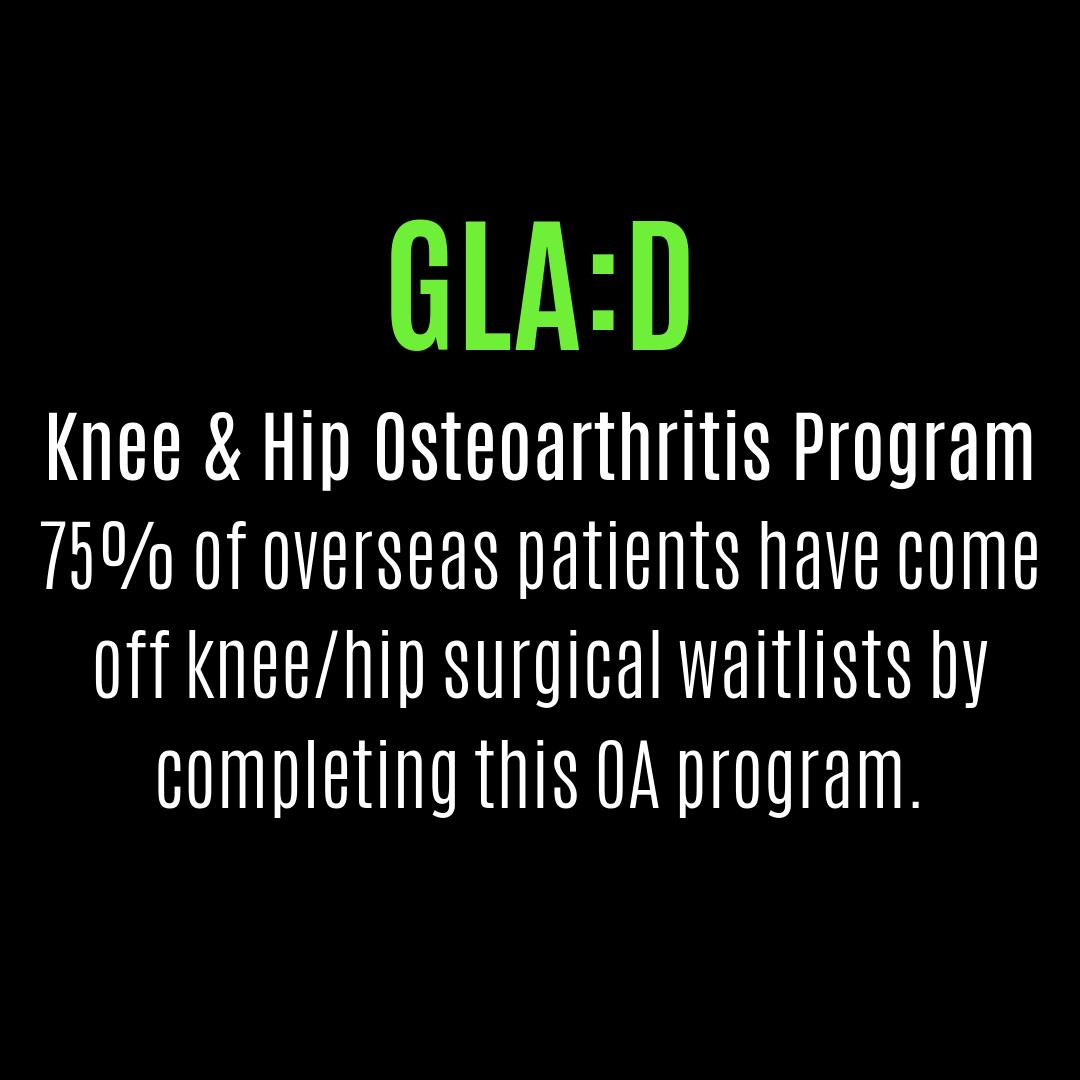 GLA:D Osteoarthritis