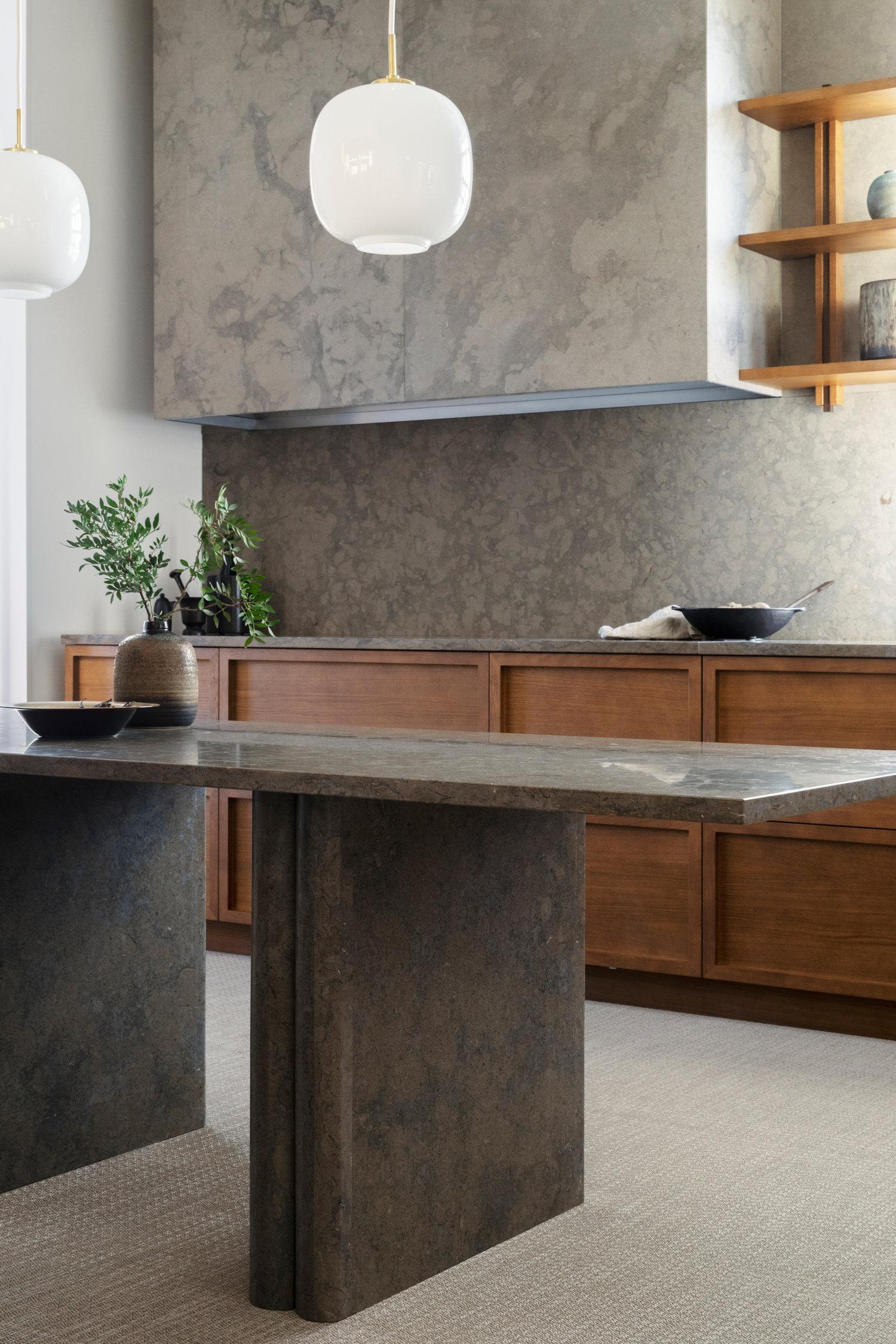 LILJENCRANTZ FOR KVÄNUM |  Designer Louise Liljencrantz has teamed up with Swedish company Kvänum creating three contemporary kitchens with an overarching emphasis on: warmth, detail and simplicity | image via Kvänum    LINK HERE >>>