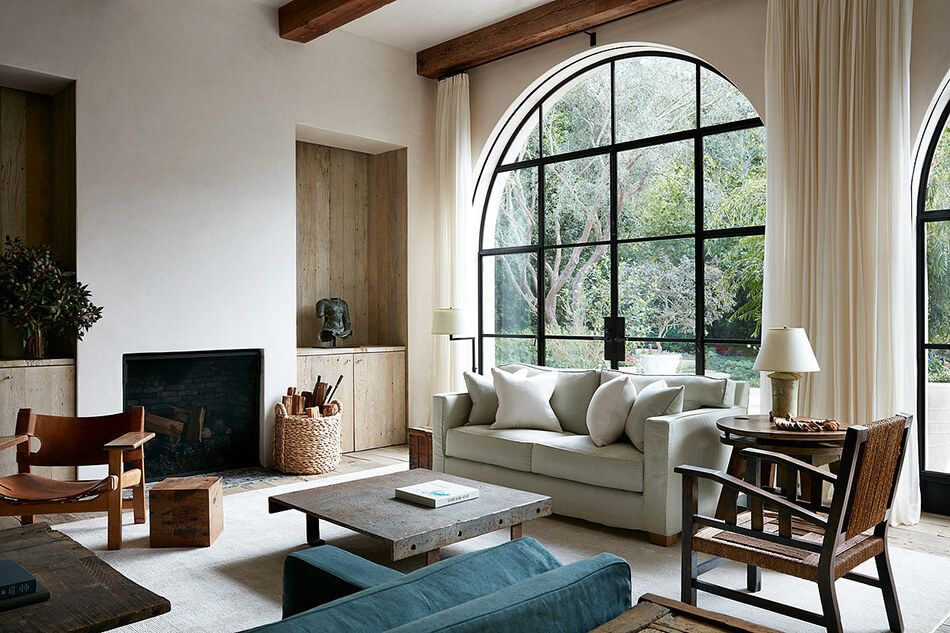 RANCHO SANTA FE VILLA BY ATELIER AM |  If you are fortunate enough to have visited Santa Fe, you'll understand how this home, by Atelier AM, not only encapsulates the very unique spirit of Santa Fe to a T, as well as that of the design firm, belonging to Alexandra and Michael Misczynski | image via ATELIER AM    LINK HERE >>>