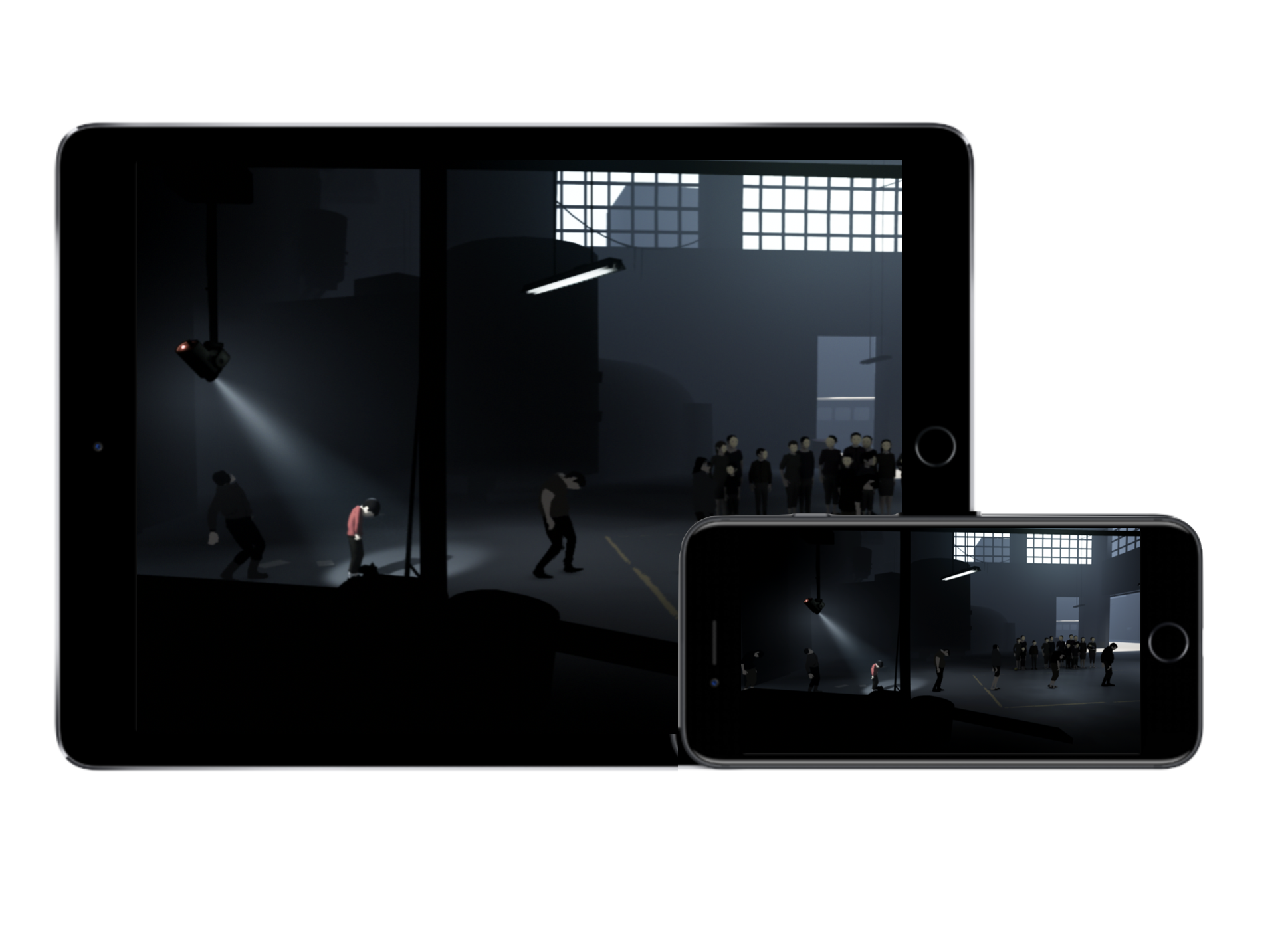 One of my favorite iOS games right now,   PlayDead's INSIDE   , uses iCloud saved game state to allow users to pick up and play across devices seamlessly. This really makes it enjoyable going from iOS on the go, to playing on iPad at home.