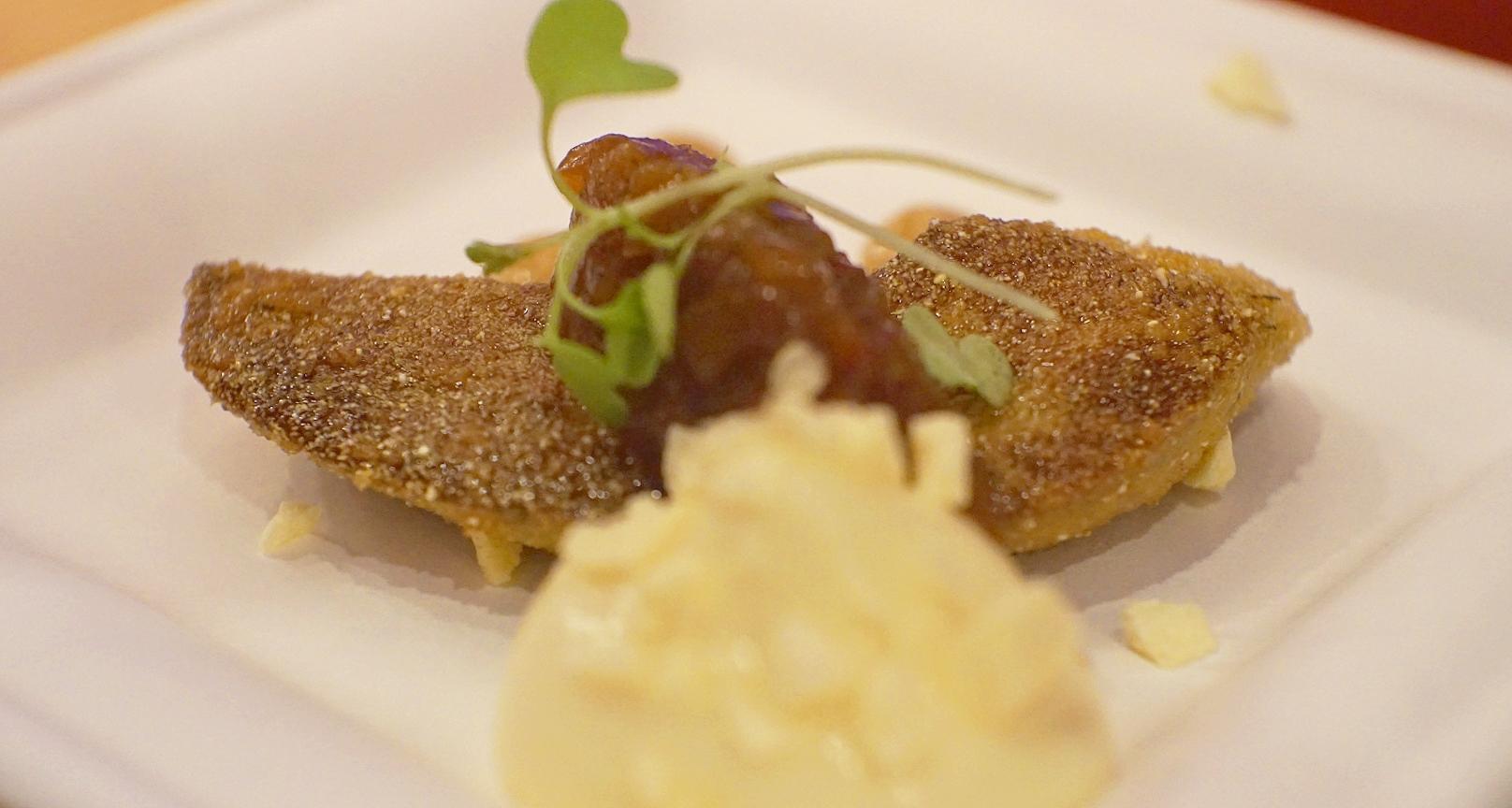 Pan fried foie gras by Scott Webster
