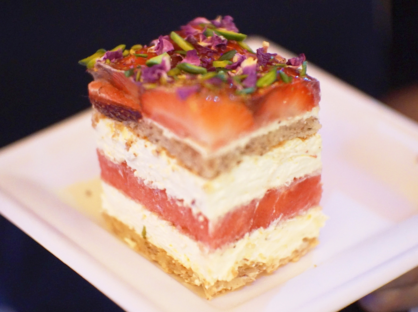 Strawberry Watermelon Cake by Chris The