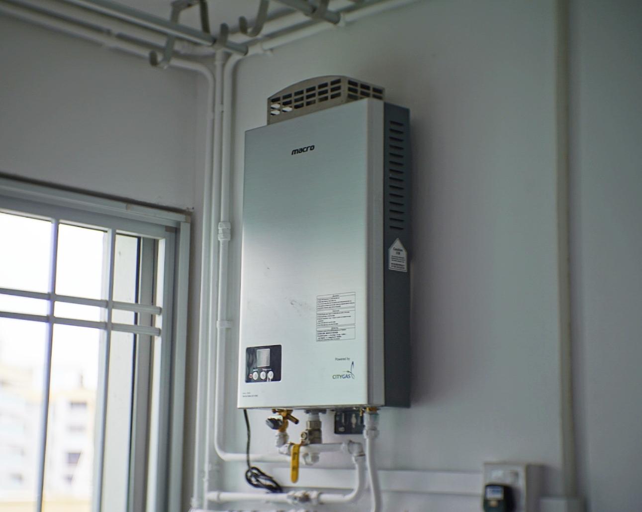 The  Macro MA-10FE instantangeous gas heater .