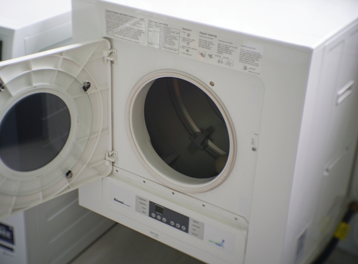 The Rinnai RD-600CG is efficient, and dries clothes quickly.