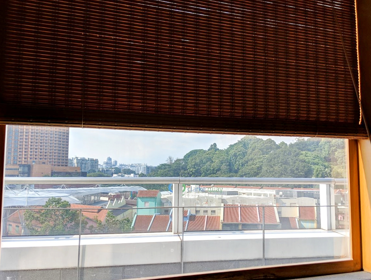 The view from Ikeda Spa.