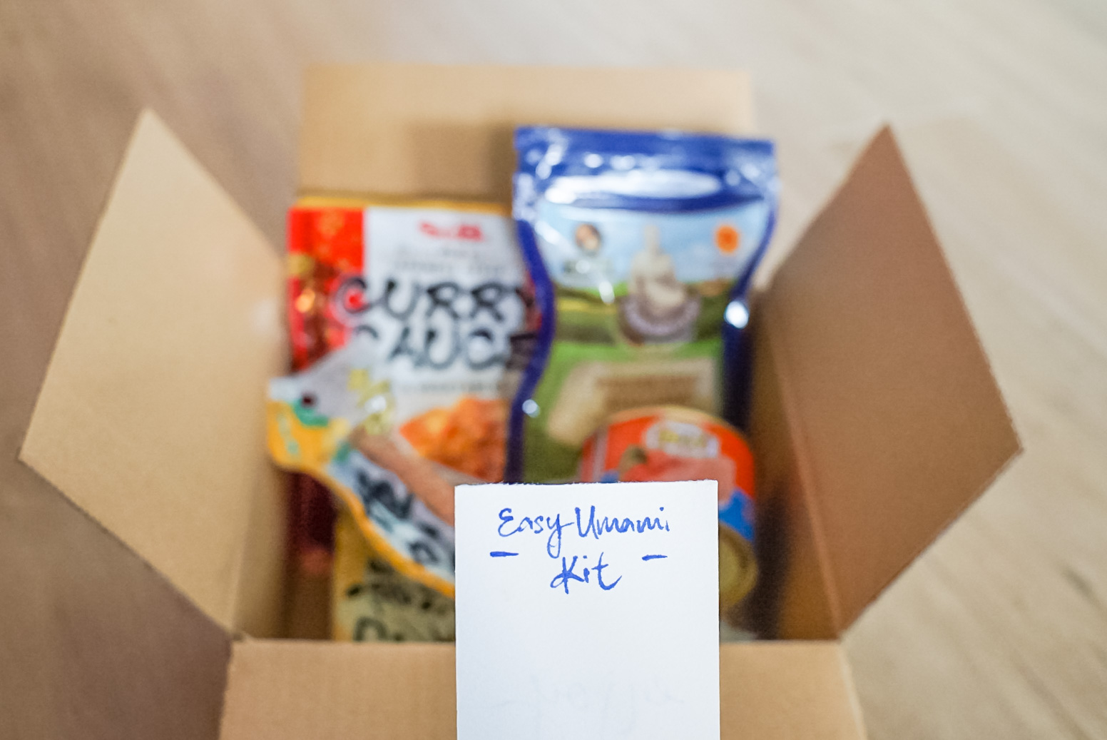 The easy umami kit - a great gift for $15.