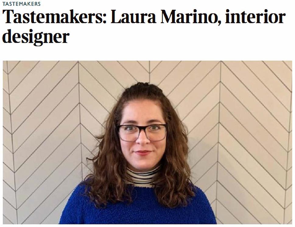 "Laura Marino: ""I'm a wallpaper junkie"""