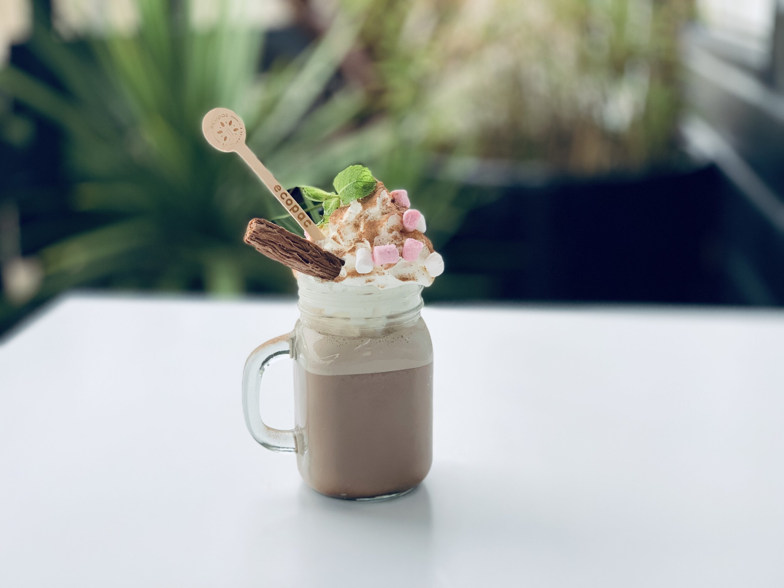 Or just pop in for a hot chocolate!