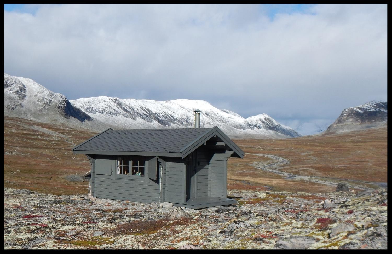 Kaffihaughytta i Stordalen. Foto Dag Ringstad