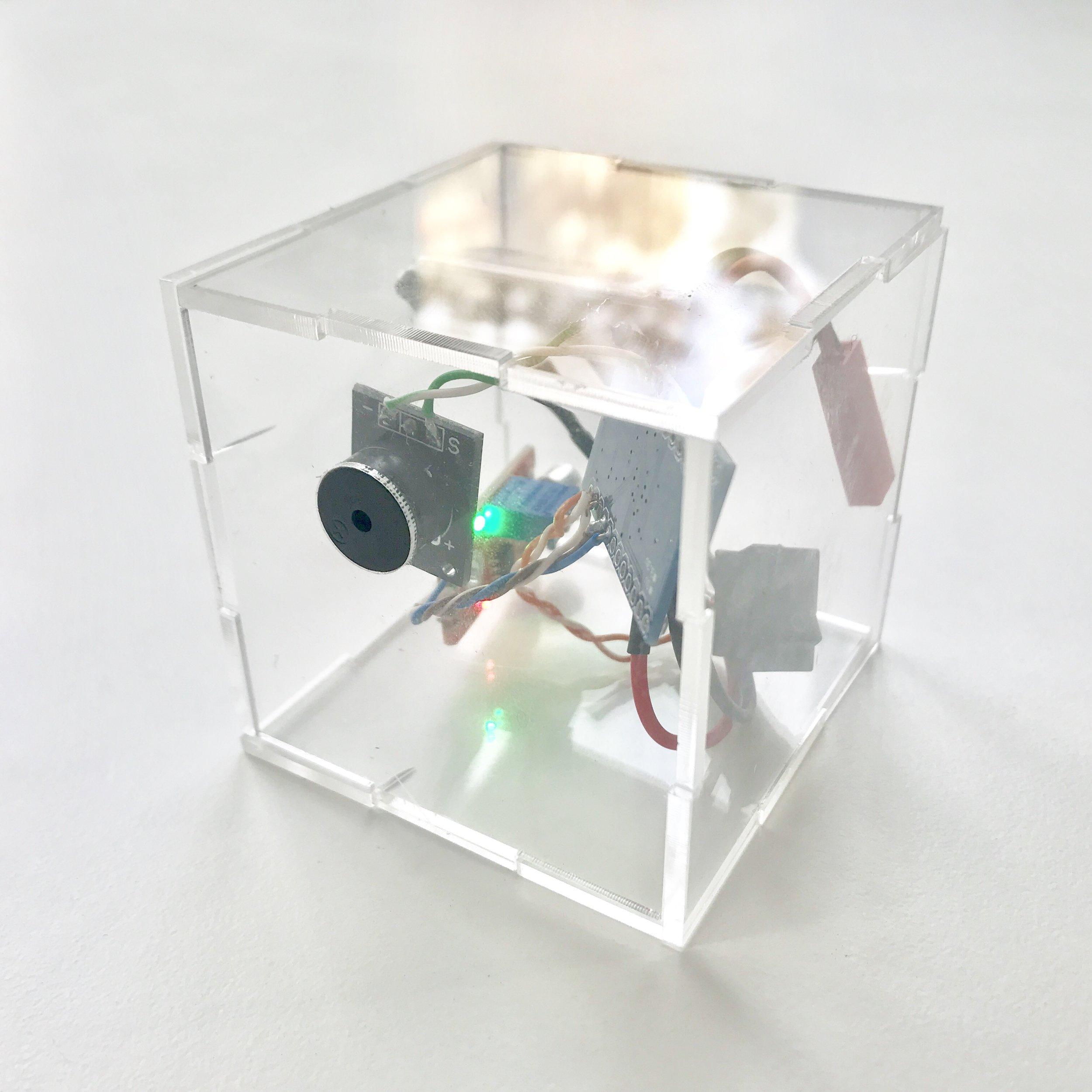 Sound sensor + buzzer box