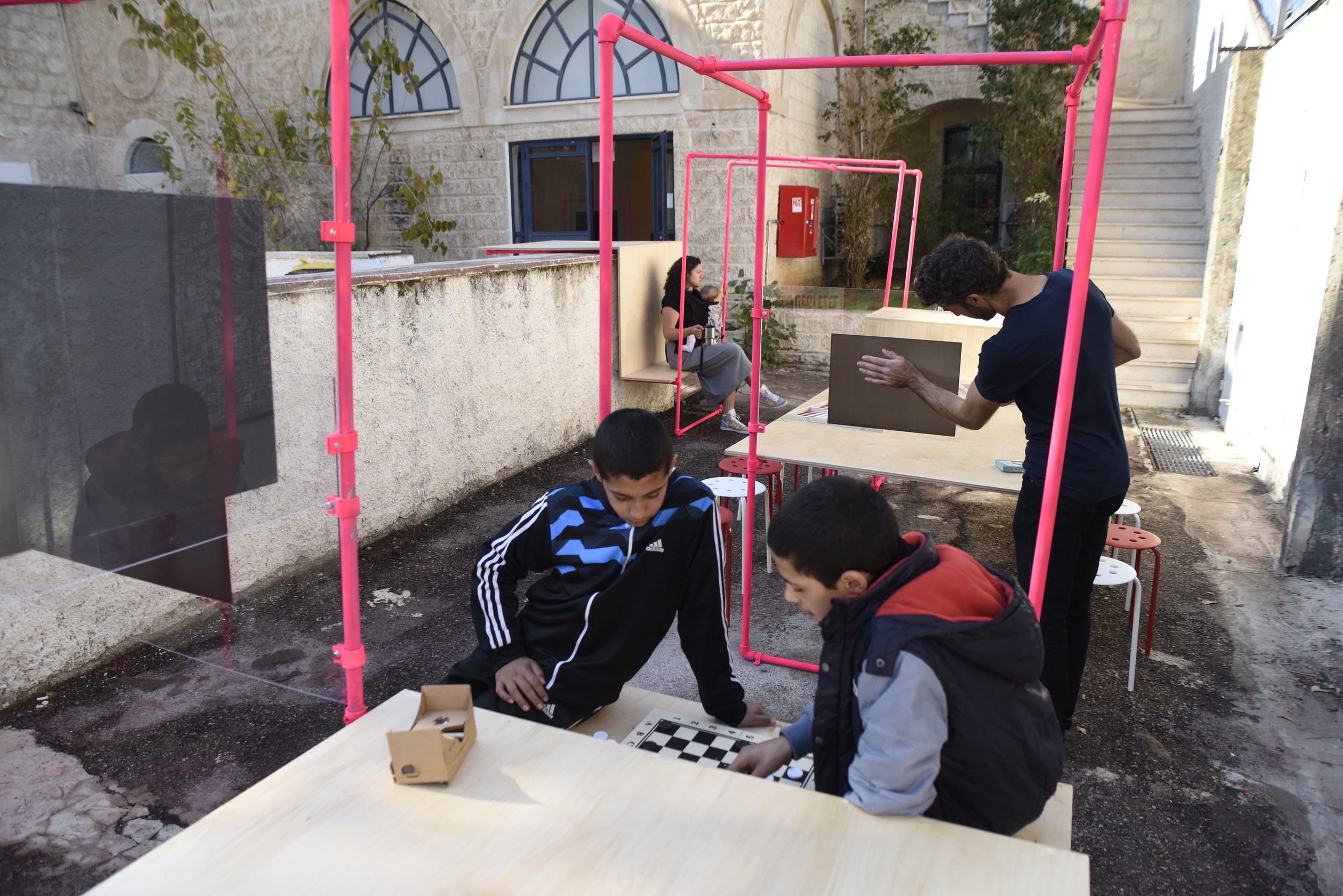 Beit Hagephen Gallery, Play Haifa exhibition 2016