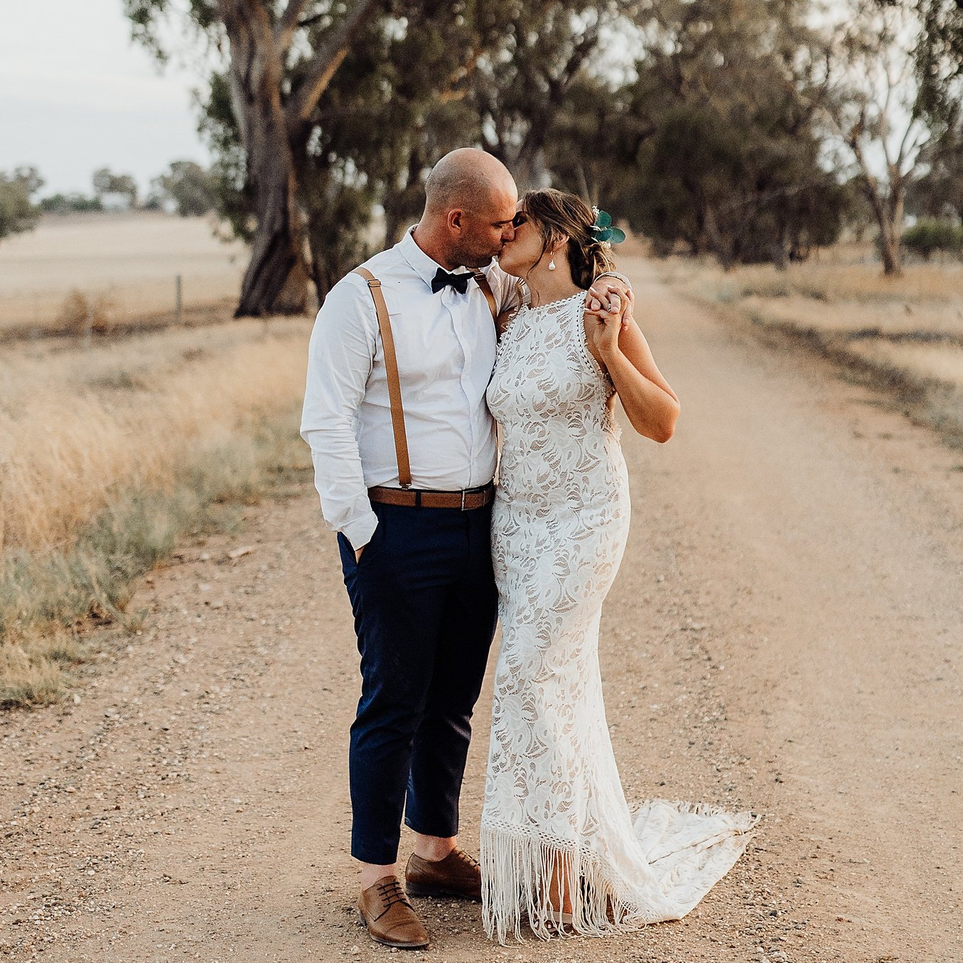 "Nikita + Nathan - Echuca, vic - ""Mickala is out of this world amazing. We had a pre wedding sesh with her prior to our big day, and after seeing these photos we thought how could our wedding photos possibly beat them, but they did!! We love every single photo she took. I can not fault this woman, she made us both feel so comfortable, natural and relaxed, she captured so many beautiful moments between us. We have not only found a photographer to capture the special moments in our lives, but we also found a friend! I will definitely be asking Mickala for more sessions down the track! """