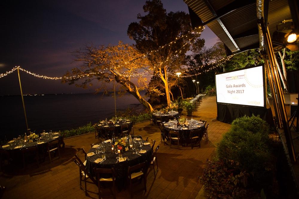 open air gala event in Darwins dry season