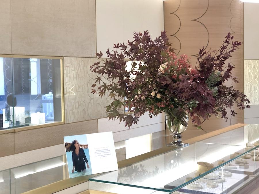 Festive flowers for Paspaleys Darwin showroom