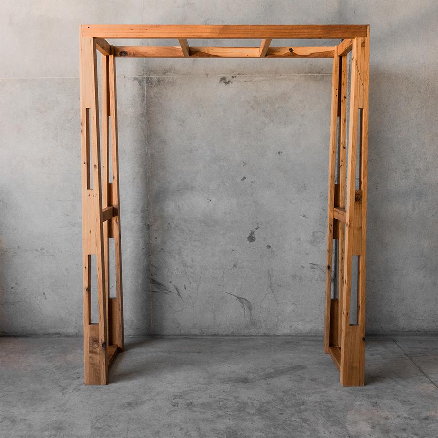 timber arbour