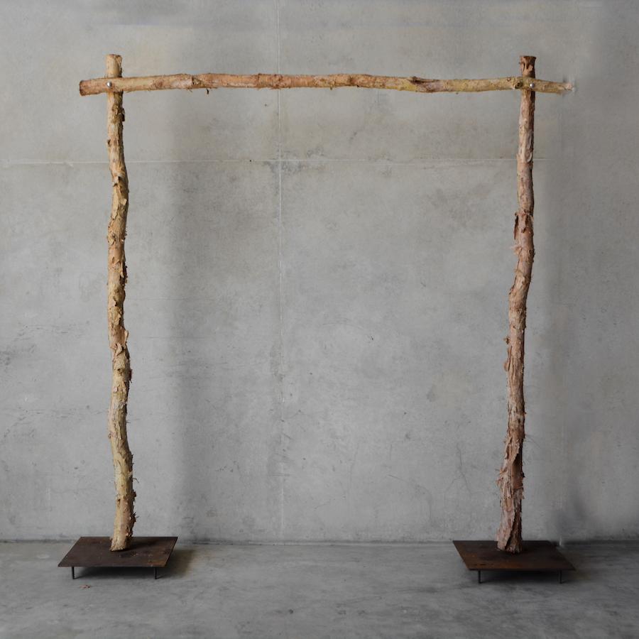 paperbark wedding ceremony arbour for rental in Darwin