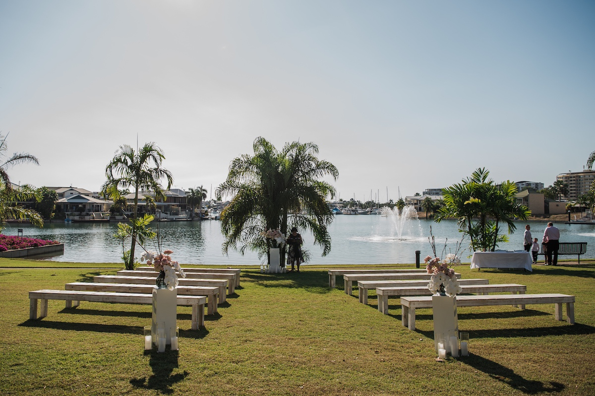 Kahlin Beach, Cullen Bay, Darwin wedding ceremony location