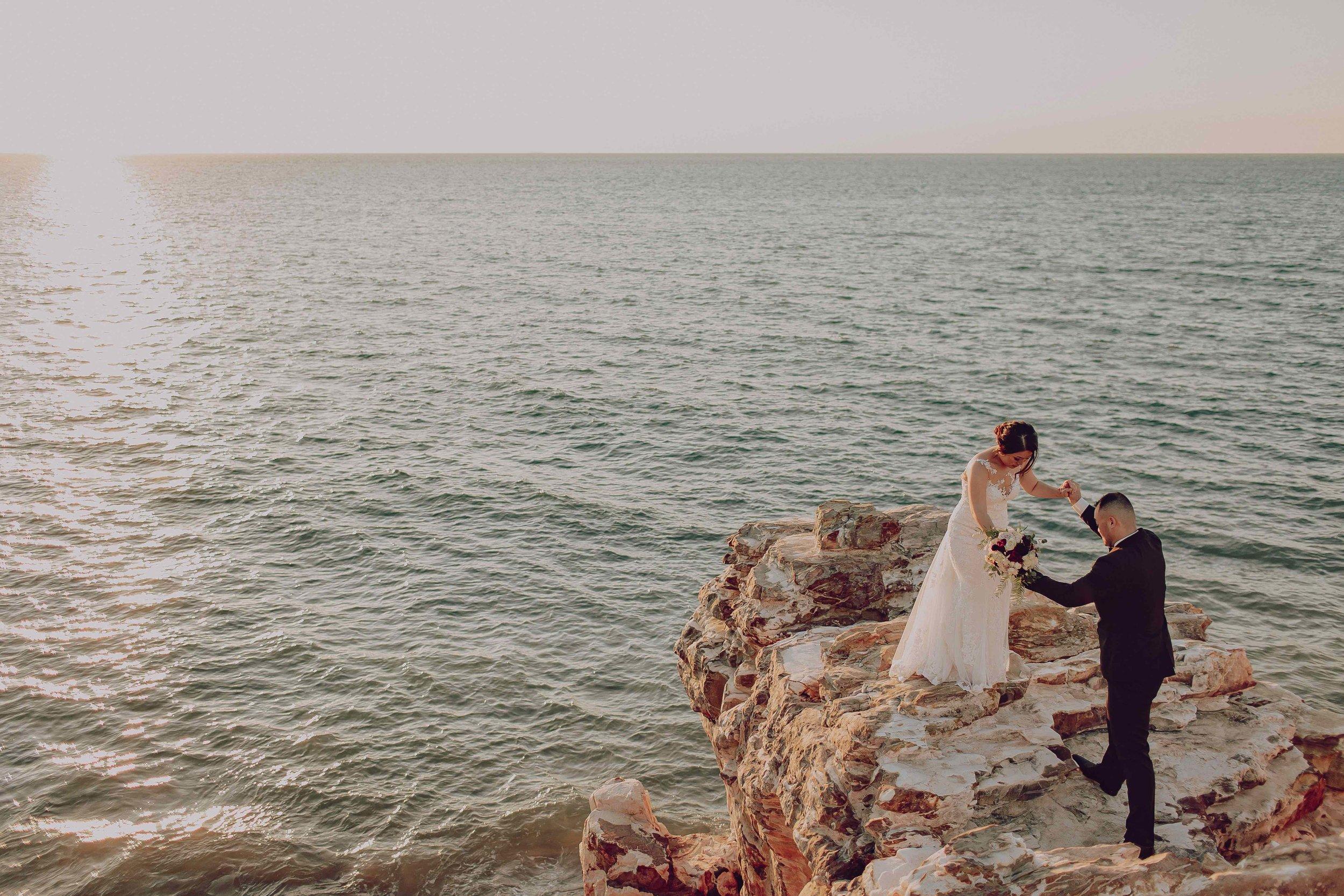 Darwin bride and groom