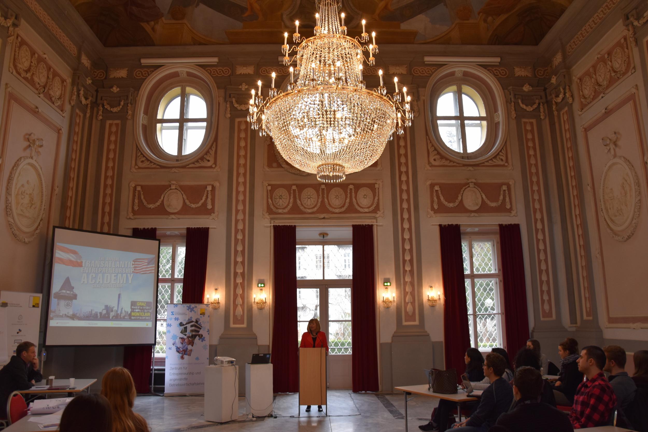 Rektor Neuper Addressing TEA 2017.JPG