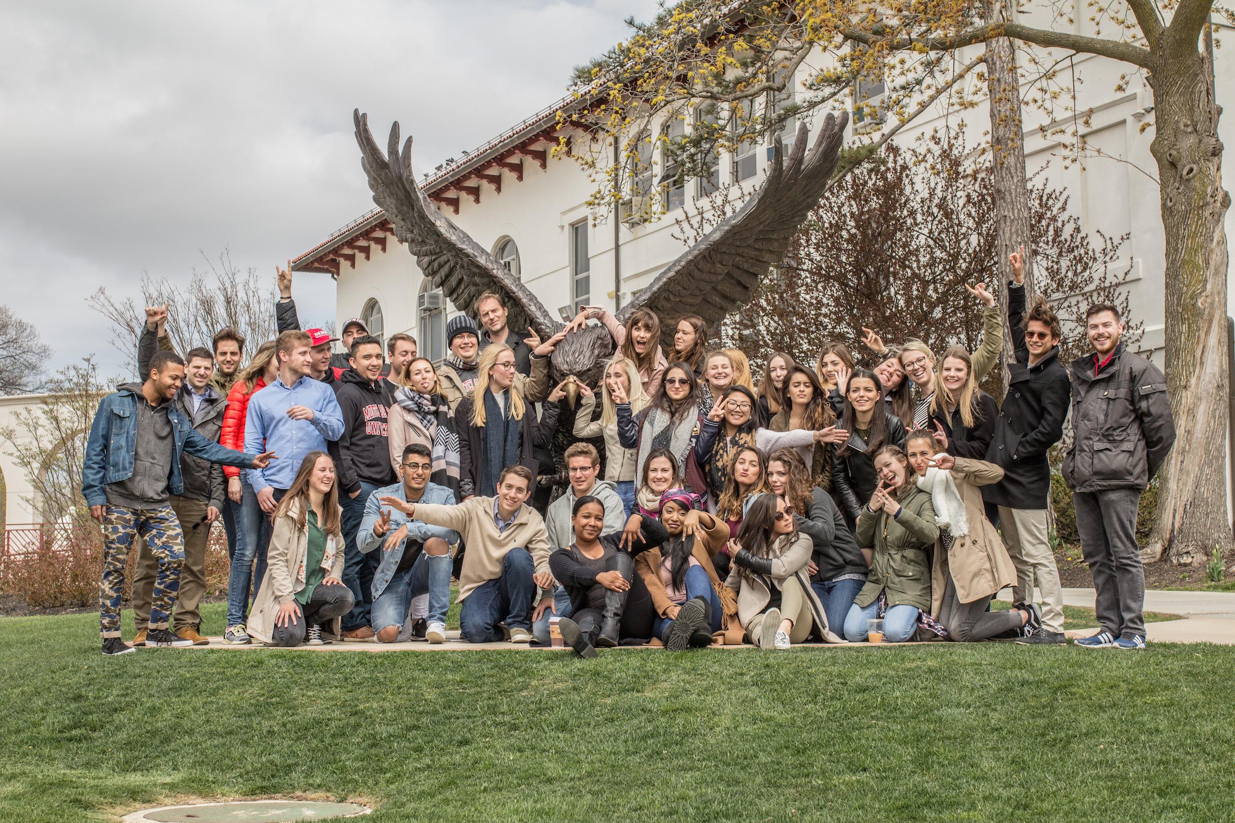 TEA students at Red Hawk at Montclair State University.jpg