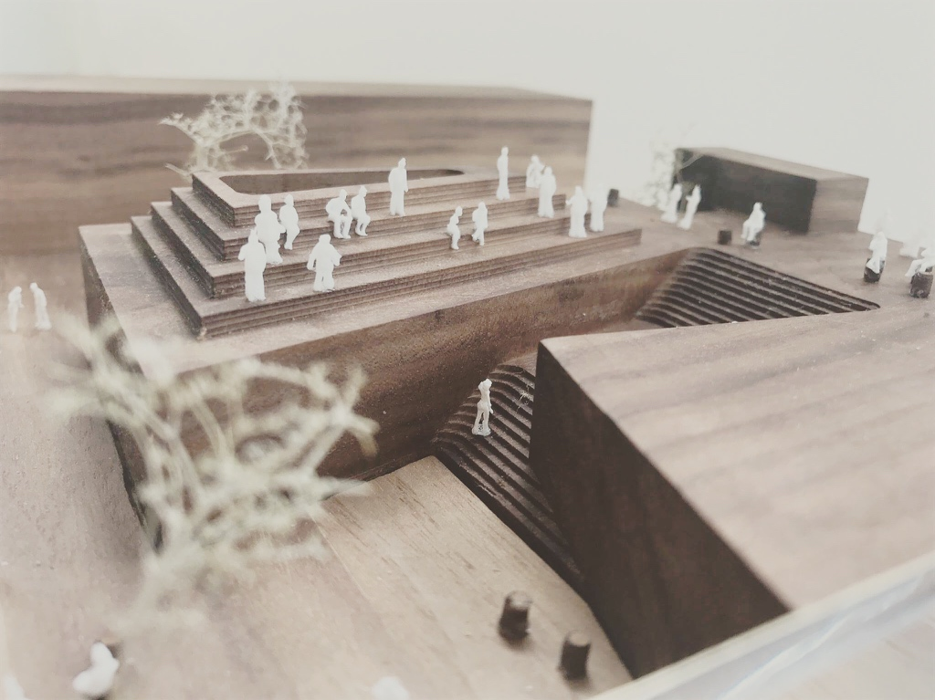 Longer Now is a proposition for a public art and performance centre.
