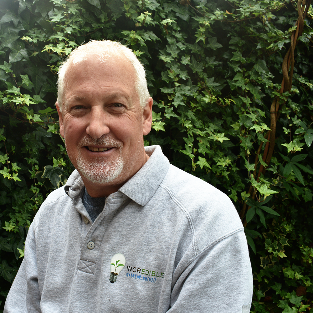 Ian -Director & Horticulture Educational Lead - Ian has a wealth of experience of teaching in the further education sector. He started his teaching career in 1999 where he first taught students with additional needs. His passion for using horticulture as a medium for teaching was fostered during this time.In 2013 his outstanding work and dedication to the delivery of horticulture was recognised when he was awarded a Livery Company Prize from the Worshipful Company of Gardeners at the City & Guilds Annual Awards presented by HRH The Princess Royal at Buckingham Palace.