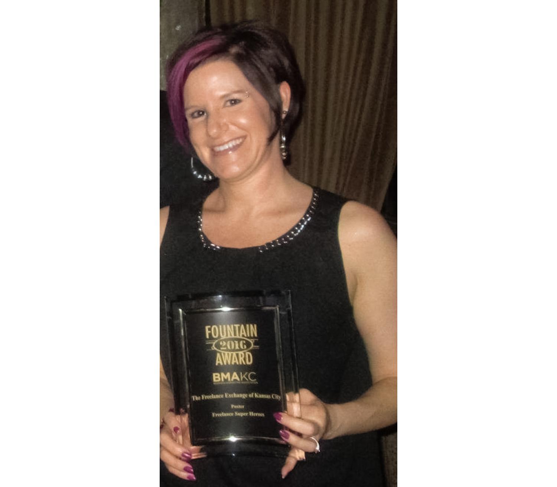 Fountain Award 2016 - Given by BMA-KC