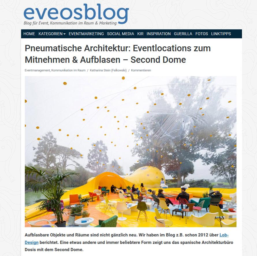 EveosBlog. Stein, K. 2016