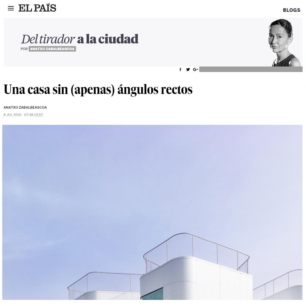 El País. Anatxu Zabalbeascoa. 2015