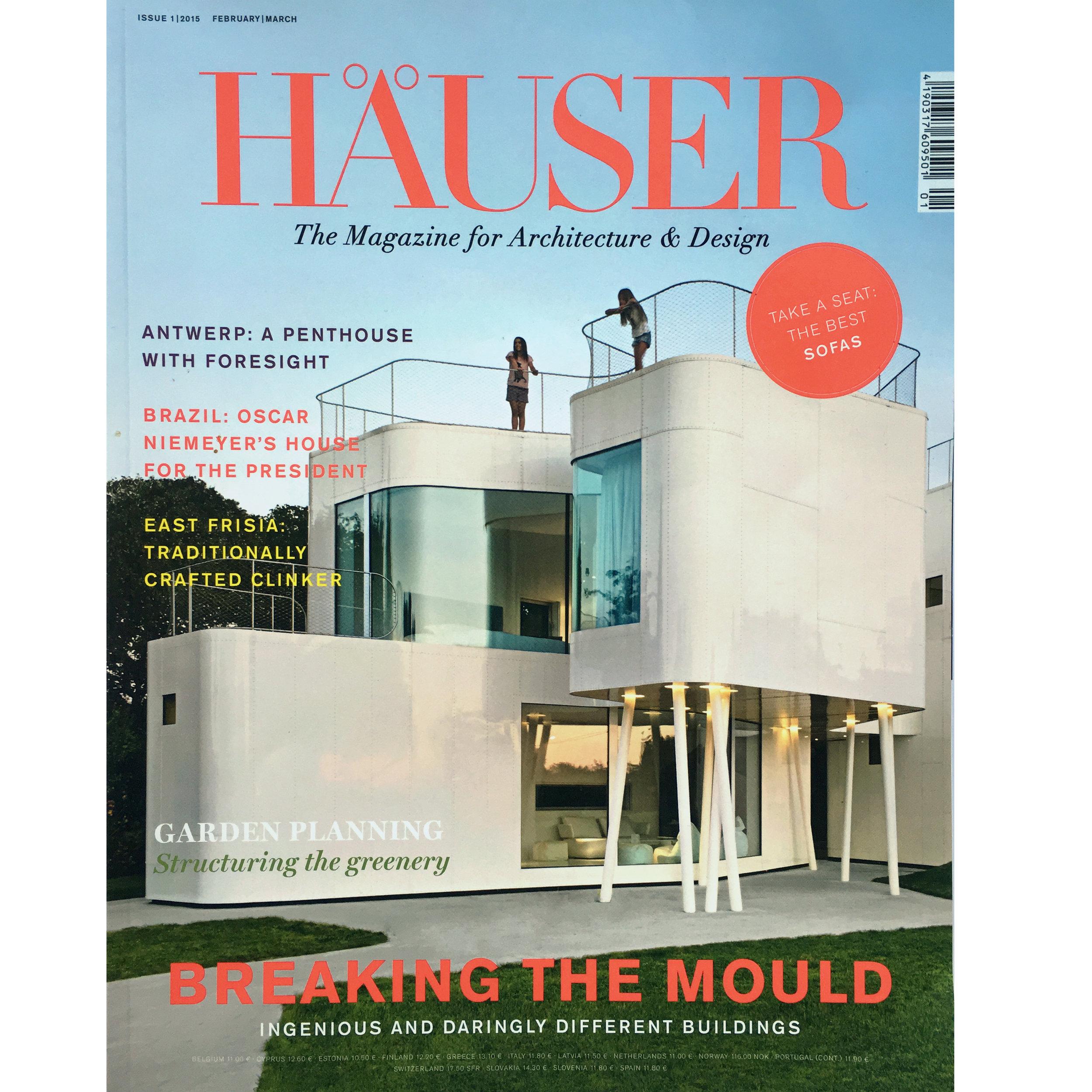 Häuser nº 1. 2015 (Printed Publication)