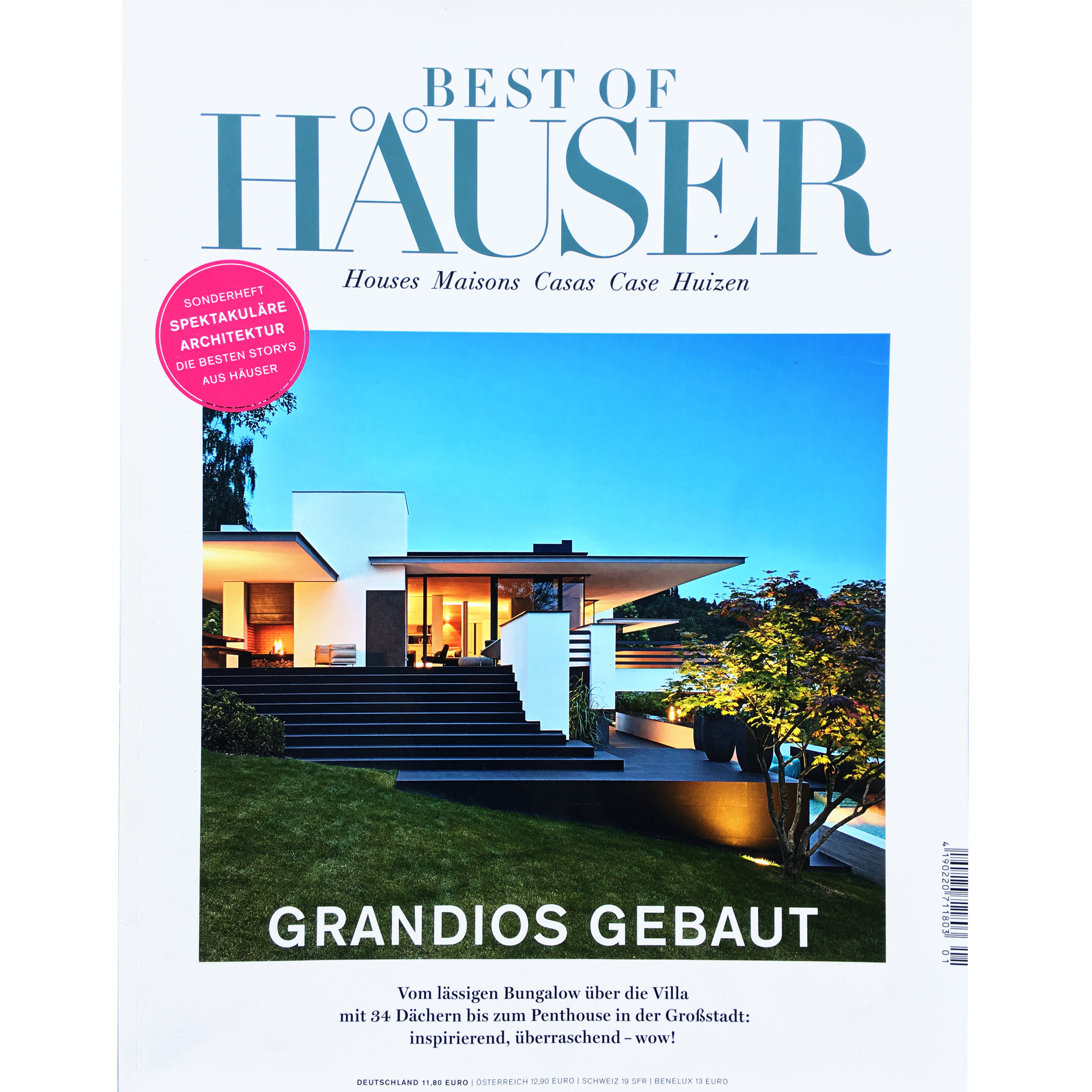 Best of Häuser. 2016 (Printed Publication)